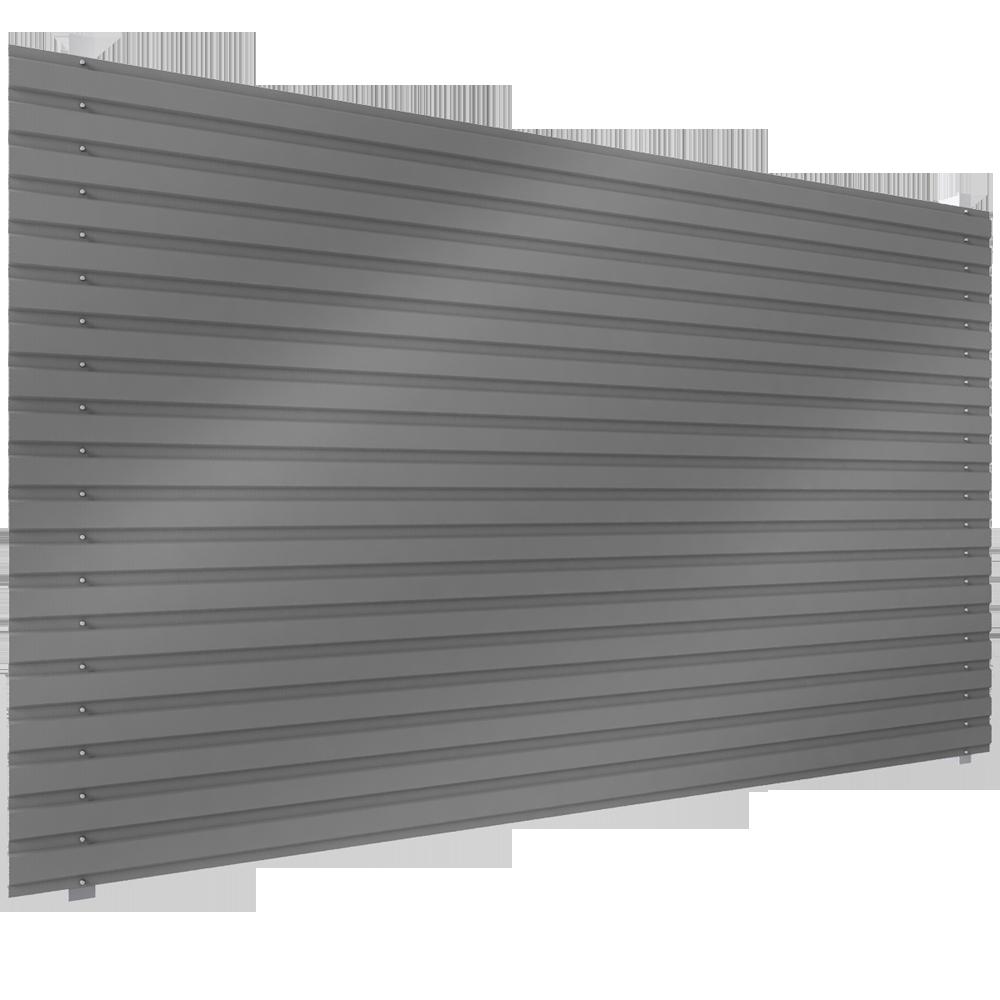 bardage en acier simple peau en pose horizontale b 2. Black Bedroom Furniture Sets. Home Design Ideas